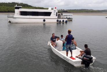 Barco-clínica que atende no Baixo Sul recebe aparelho de ultrassom