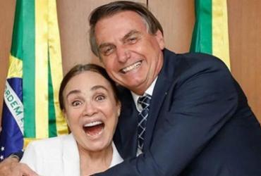 'Ninguém melhor do que Regina Duarte para a Cultura', diz Bolsonaro | Reprodução | Instagram