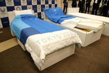 Tóquio 2020: camas de papelão resistirão a atividades sexuais | JIJI PRESS | AFP