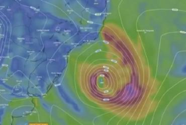 Formação de ciclone nesta quinta deixa Bahia e mais dois estados em alerta | Reprodução | Youtube