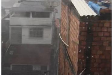 Chuva de granizo atinge Salvador nesta quarta | Cidadão Repórter | Via Whatsapp