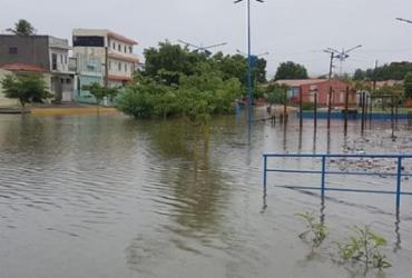 Fortes chuvas deixam população de Bom Jesus da Lapa em alerta | Foto: Reprodução