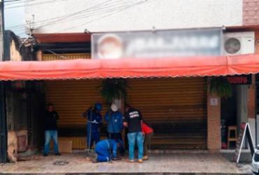 Bar é flagrado com 'gato' de água na Cidade Baixa | Divulgação | Embasa