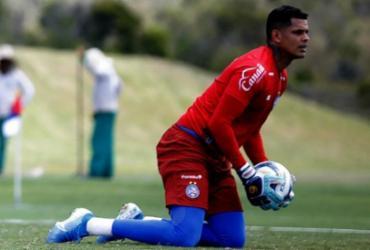 Titular contra o Imperatriz, goleiro Anderson quer agarrar chance no Bahia | Felipe Oliveira | EC Bahia