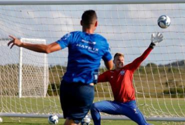 Com desfalques, Roger Machado comanda treino técnico na Cidade Tricolor | Felipe Oliveira | EC Bahia