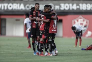 Em jogo-treino, Vitória vence o Bahia de Feira por 2 a 0, no Barradão | Uendel Galter | Ag. A TARDE