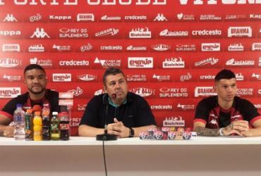 Júnior Viçosa e Maurício Ramos veem disputa saudável no Leão | Divulgação | EC Vitória