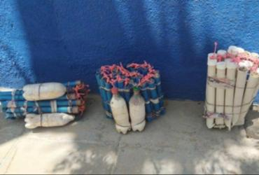 Suspeito com 27 kg de explosivos é morto em confronto com polícia na Bahia | Reprodução | SSP-BA