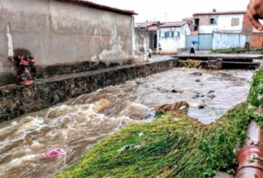 Chuvas já atingiram mais de 120 milímetros em Feira de Santana |