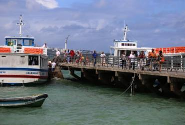 Ferry e travessia Salvador-Mar Grande têm movimento intenso neste sábado | Joá Souza | Ag. A TARDE