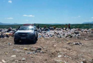 Feto é encontrado em lixão no interior da Bahia | Reprodução | Teixeira