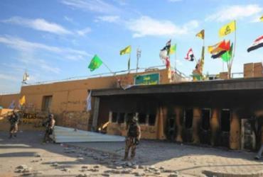 Vários foguetes caem perto da embaixada dos EUA em Bagdá | Ahmad Al-Rubaye | AFP