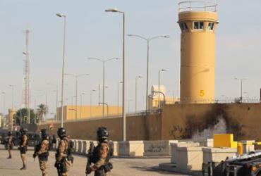 Três granadas-foguete atingem embaixada dos EUA no Iraque | Ahmad al-Rubaye | AFP