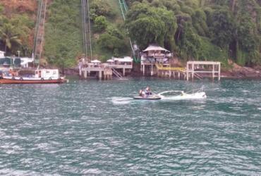 Lancha afunda na Baía de Todos-os-Santos | Marinha do Brasil | Divulgação