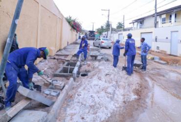 Lauro de Freitas investe em pavimentação das vias públicas
