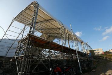 Camarotes do Carnaval começam a mudar paisagem na rota dos circuitos | Rafael Martins | Ag. A TARDE
