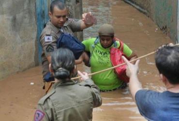 Sobe para 50 número de mortes causadas pelas chuvas em Minas Gerais | Divulgação | PMMG