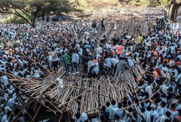 Queda de plataforma deixa dez mortos na Etiópia | Eduardo Soteras | AFP