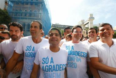Em ano eleitoral, festa religiosa testa a popularidade de pré-candidatos | Rafael Martins | Ag. A TARDE
