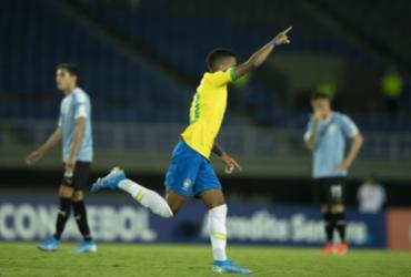 Brasil vence Uruguai no Pré-Olímpico | Lucas Figueiredo | CBF