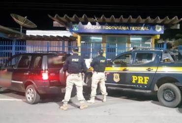 Homem é preso com carro roubado em Barreiras | Divulgação | PRF