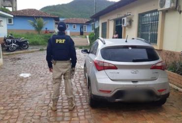 PRF captura foragido da Justiça e recupera veículo roubado | Divulgação | PRF