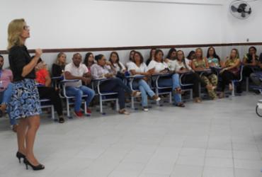 Gestores participam de reunião de alinhamento do Programa Educação 100%