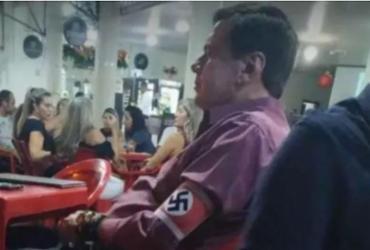 Promotoria denuncia homem que usou braçadeira nazista em MG | Reprodução