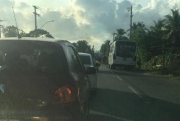 Protesto por falta de água bloqueia a Estrada da Cascalheira | Reprodução