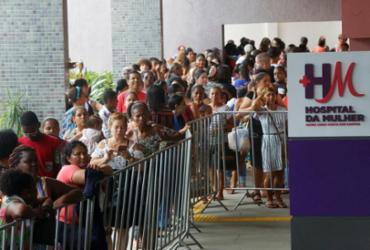 Hospital atende mais de mil mulheres em triagem | Rafael Martins | Ag. A TARDE