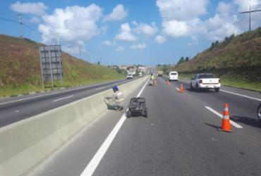 Bahia Norte faz intervenções no Sistema de Rodovias BA-093