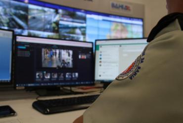 Suspeito de roubo é flagrado por tecnologia da SSP | Divulgação | SSP-BA