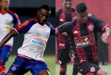 Dupla Ba-Vi joga por classificação na Copa SP nesta quinta-feira   Felipe Oliveira   EC Bahia e Letícia Martins   EC Vitória