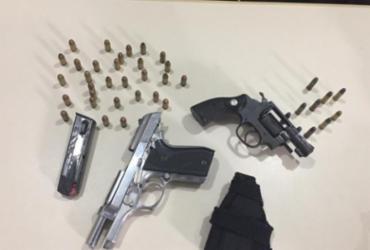 Suspeitos de tentativa de homicídio e assalto são presos em Itabuna | Divulgação | SSP