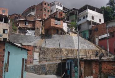 Obra de contenção de encosta é inaugurada no bairro de Sussuarana | Ananda Freitas | Ag. A TARDE