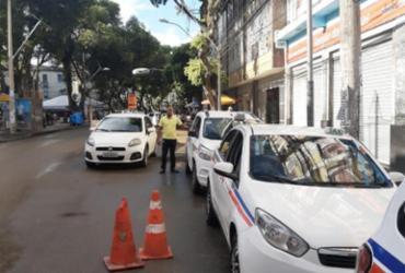 Taxistas reivindicam reinstalação de antigo ponto no Centro de Salvador | Divulgação | AGT