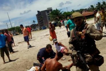 Dois homens são baleados em praia de Ilhéus |