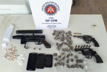 Três suspeitos morrem em confronto com a PM em Camaçari | Divulgação | SSP