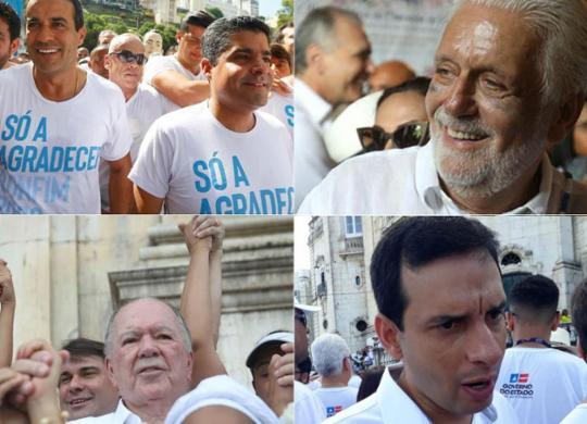 Lavagem do Bonfim abre portas para corrida política | Rafael Martins, Felipe Iruatã e Aparecido Silva | Ag. A TARDE