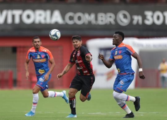 Vitória estreia na Copa do Nordeste com empate diante do Fortaleza | Raul Spinassé | Ag. A TARDE