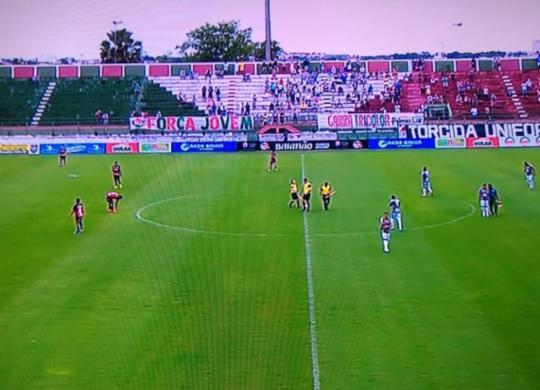 Com gol no apagar das luzes, Vitória arranca empate contra o Flu de Feira | Reprodução