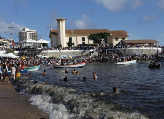 Festa de Iemanjá contará com esquema especial no domingo | Adilton Venegeroles | Ag. A TARDE
