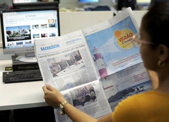 Com preço de R$ 2,50, A TARDE aumenta vendas no domingo | Raul Spinassé | Ag. A TARDE