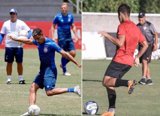 Bahia e Vitória seguem com plano B no Campeonato Baiano | Felipe Oliveira | EC Bahia e Letícia Martins | EC Vitória