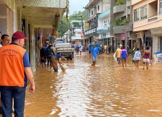 Sobe para seis o número de mortos devido a chuvas no Espírito Santo | Assessoria de Comunicação do Governo | Divulgação