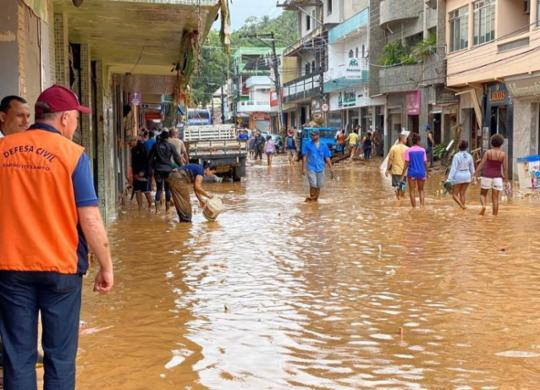 Após chuvas, Espírito Santo tem 229 pessoas desalojadas e 6 mortos | Assessoria de Comunicação do Governo | Divulgação