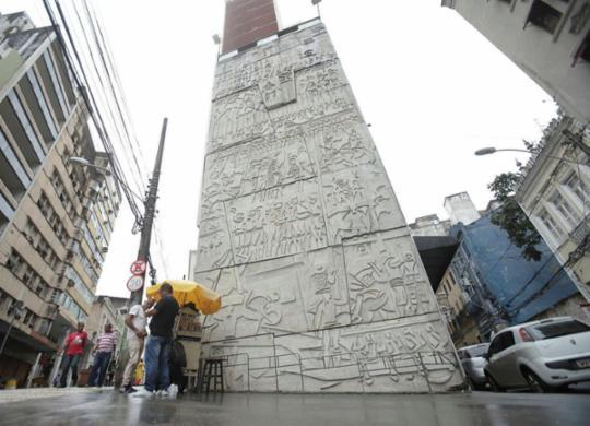 Painéis de Carybé serão tombados e vão se tornar patrimônio da cidade | Uendel Galter | AG. A TARDE