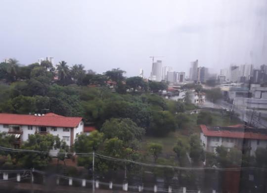 Em regime de atenção para hoje, Codesal diz que chuvas de ontem superaram média histórica | Reprodução