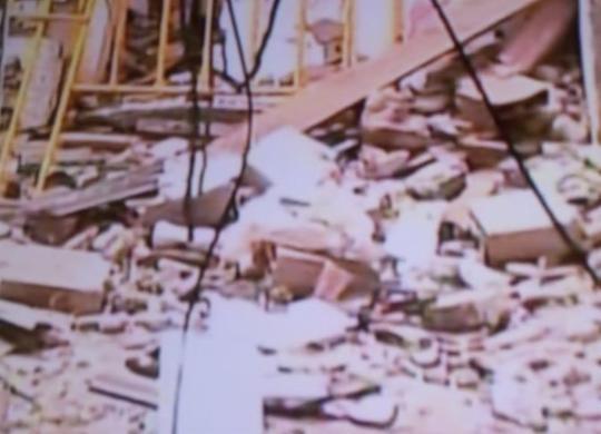 Prédio de quatro andares desaba no bairro de Narandiba | Reprodução