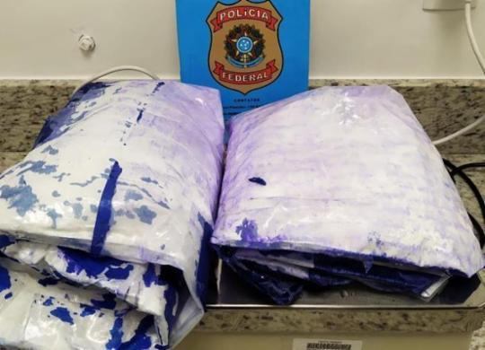 PF prende casal que tentava embarcar com cocaína no aeroporto de Salvador | Divulgação | Polícia Federal
